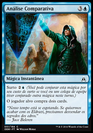 Análise Comparativa / Comparative Analysis-Magic: The Gathering-MoxLand