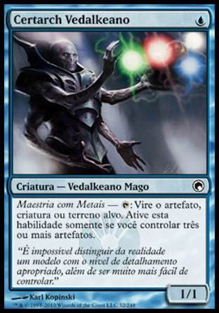 Certarch Vedalkeano / Vedalken Certarch-Magic: The Gathering-MoxLand