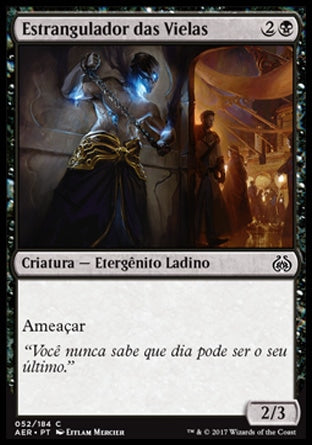 Estrangulador das Vielas / Alley Strangler-Magic: The Gathering-MoxLand
