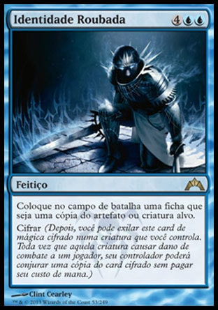 Identidade Roubada / Stolen Identity-Magic: The Gathering-MoxLand