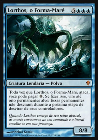 Lorthos, o Forma-Maré / Lorthos, the Tidemaker-Magic: The Gathering-MoxLand