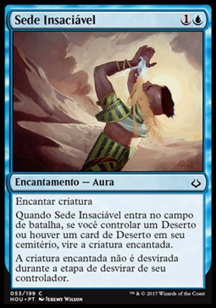 Sede Insaciável / Unquenchable Thirst-Magic: The Gathering-MoxLand