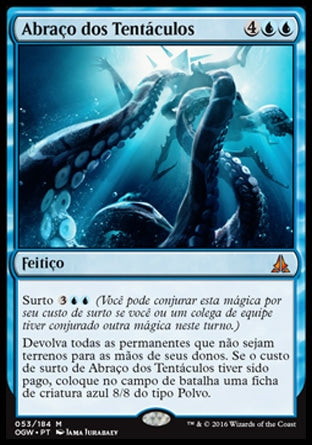 Abraço dos Tentáculos / Crush of Tentacles-Magic: The Gathering-MoxLand