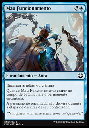 Mau Funcionamento / Malfunction-Magic: The Gathering-MoxLand