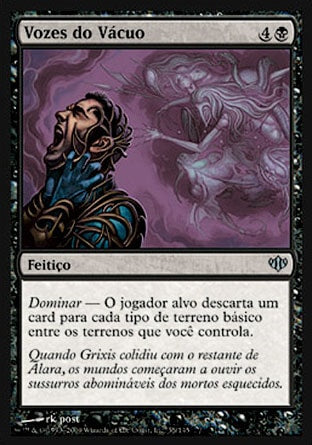 Vozes do Vácuo / Voices from the Void-Magic: The Gathering-MoxLand