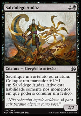 Salvádego Audaz / Defiant Salvager-Magic: The Gathering-MoxLand