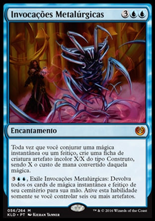 Invocações Metalúrgicas / Metallurgic Summonings-Magic: The Gathering-MoxLand