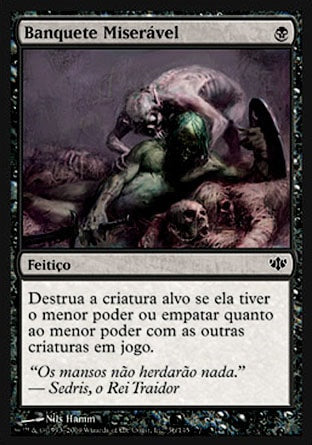 Banquete Miserável / Wretched Banquet-Magic: The Gathering-MoxLand