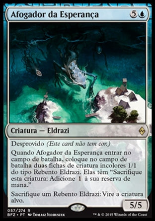 Afogador da Esperança / Drowner of Hope-Magic: The Gathering-MoxLand