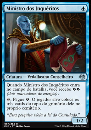 Ministro dos Inquéritos / Minister of Inquiries-Magic: The Gathering-MoxLand