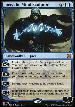 Jace, o Escultor de Mentes / Jace, the Mind Sculptor-Magic: The Gathering-MoxLand