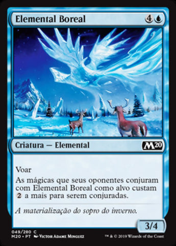 Elemental Boreal / Boreal Elemental-Magic: The Gathering-MoxLand