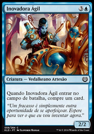 Inovadora Ágil / Nimble Innovator-Magic: The Gathering-MoxLand