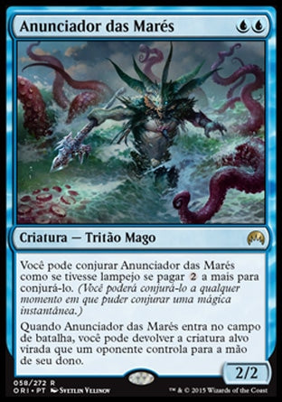 Anunciador das Marés / Harbinger of the Tides-Magic: The Gathering-MoxLand