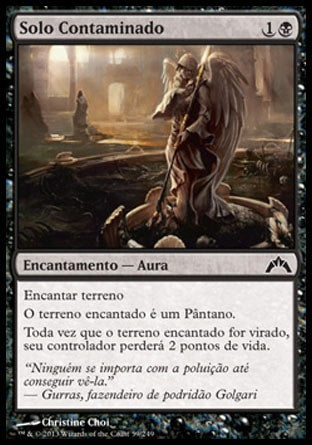 Solo Contaminado / Contaminated Ground-Magic: The Gathering-MoxLand
