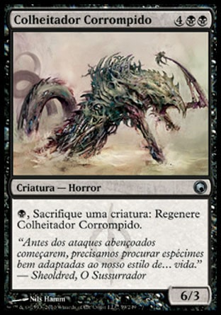 Colheitador Corrompido / Corrupted Harvester-Magic: The Gathering-MoxLand