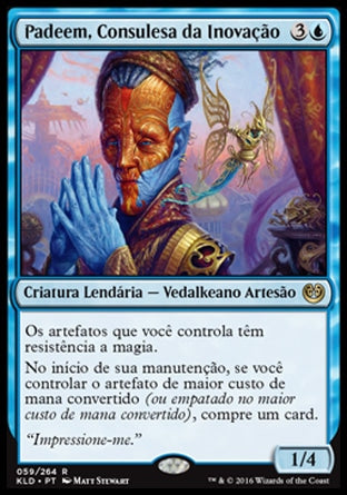 Padeem, Consulesa da Inovação / Padeem, Consul of Innovation-Magic: The Gathering-MoxLand