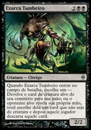 Exarca Tumbeiro / Entomber Exarch-Magic: The Gathering-MoxLand