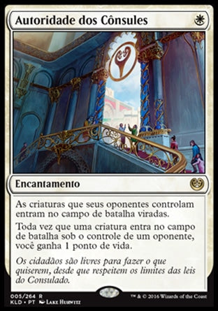 Autoridade dos Cônsules / Authority of the Consuls-Magic: The Gathering-MoxLand