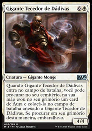 Gigante Tecedor de Dádivas / Boonweaver Giant-Magic: The Gathering-MoxLand