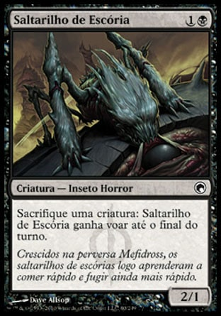 Saltarilho de Escória / Dross Hopper-Magic: The Gathering-MoxLand