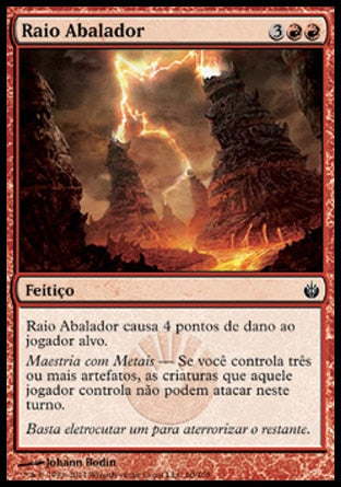 Raio Abalador / Concussive Bolt-Magic: The Gathering-MoxLand