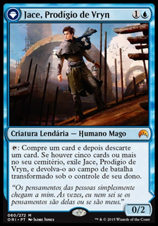 Jace, Prodígio de Vryn / Jace, Vryn's Prodigy-Magic: The Gathering-MoxLand