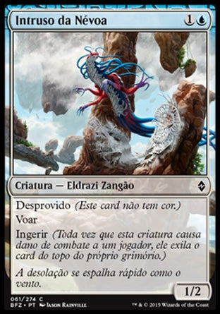 Intruso da Névoa / Mist Intruder-Magic: The Gathering-MoxLand