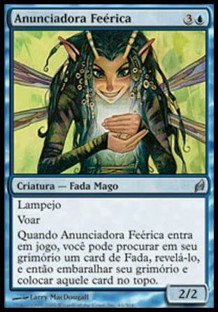 Anunciadora Feérica / Faerie Harbinger-Magic: The Gathering-MoxLand