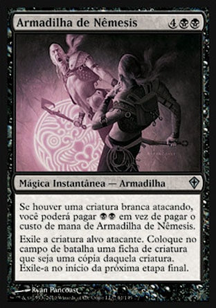 Armadilha de Nêmesis / Nemesis Trap-Magic: The Gathering-MoxLand