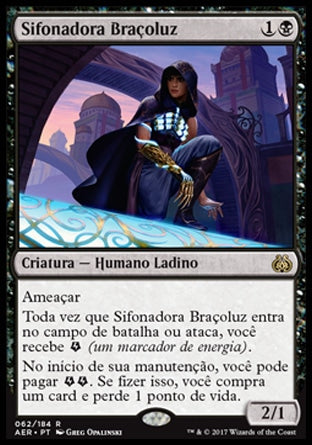 Sifonadora Braçoluz / Glint-Sleeve Siphoner-Magic: The Gathering-MoxLand