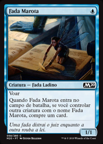 Fada Marota / Faerie Miscreant-Magic: The Gathering-MoxLand