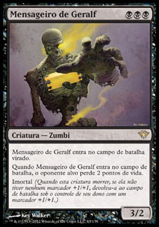 Mensageiro de Geralf / Geralf's Messenger-Magic: The Gathering-MoxLand