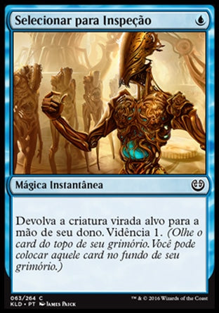 Selecionar para Inspeção / Select for Inspection-Magic: The Gathering-MoxLand