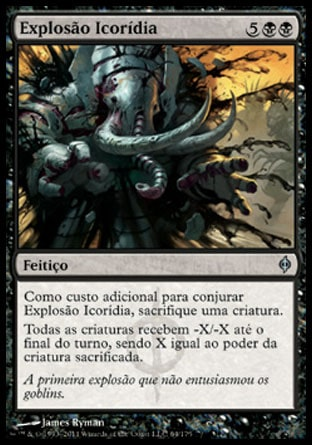 Explosão Icorídia / Ichor Explosion-Magic: The Gathering-MoxLand