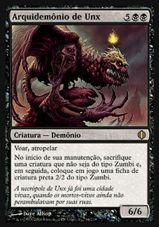 Arquidemônio de Unx / Archdemon of Unx-Magic: The Gathering-MoxLand