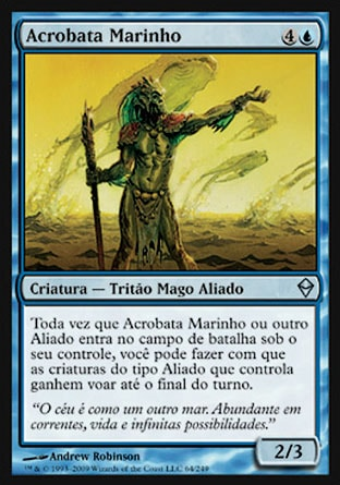 Acrobata Marinho / Seascape Aerialist-Magic: The Gathering-MoxLand