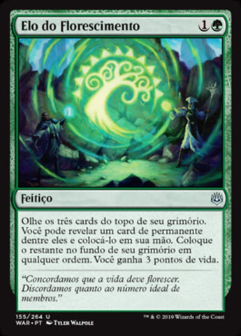 Elo do Florescimento / Bond of Flourishing-Magic: The Gathering-MoxLand