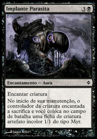 Implante Parasita / Parasitic Implant-Magic: The Gathering-MoxLand