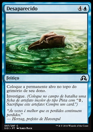 Desaparecido / Gone Missing-Magic: The Gathering-MoxLand