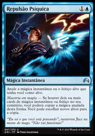 Repulsão Psíquica / Psychic Rebuttal-Magic: The Gathering-MoxLand