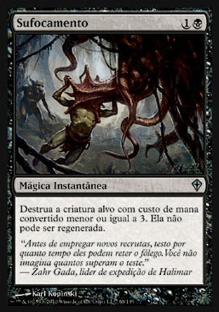 Sufocamento / Smother-Magic: The Gathering-MoxLand
