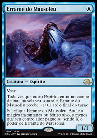 Errante do Mausoléu / Mausoleum Wanderer-Magic: The Gathering-MoxLand
