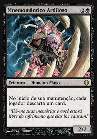 Mnemomântico Ardiloso / Cunning Lethemancer-Magic: The Gathering-MoxLand