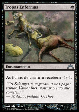 Tropas Enfermas / Illness in the Ranks-Magic: The Gathering-MoxLand