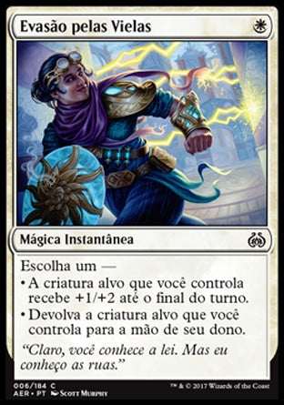 Evasão pelas Vielas / Alley Evasion-Magic: The Gathering-MoxLand