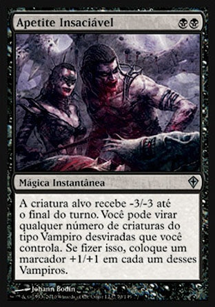 Apetite Insaciável / Urge to Feed-Magic: The Gathering-MoxLand