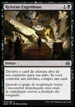 Retorno Engenhoso / Resourceful Return-Magic: The Gathering-MoxLand