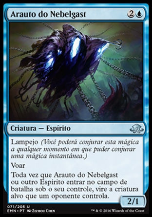Arauto do Nebelgast / Nebelgast Herald-Magic: The Gathering-MoxLand