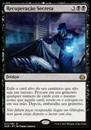 Recuperação Secreta / Secret Salvage-Magic: The Gathering-MoxLand